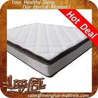 Double pillow top best quality energy mattress