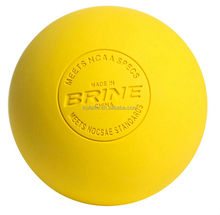 2015 hot new products solid lasergraved logo 63mm lacrosse ball with NCAA sport approved