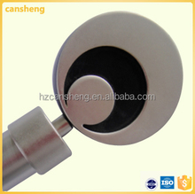 flexible metal rod with round finial