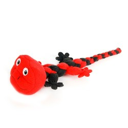 New pet products Rope Knot&chewing Knitting Lizard pet toys dog toys
