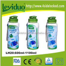 Manufacture custom BPA free plastic sports water bottle in different shape