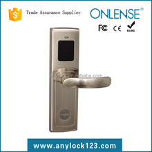 Low price hotel door room key card 5 latch lock
