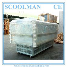 -18C Curved Glass Ice Cream Sliding Door Freezer