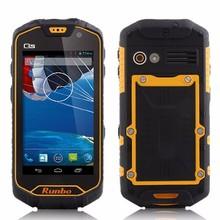 alibaba supplier Runbo Q5s vhf/uhf walkie talkie IP 67 military smartphone