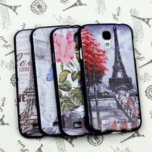Hard Black cool case for samsung S3 S4 S5 mini S6 UV print TPU soft covers available