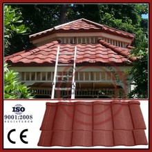 Aluminium roofing sheet coated roof tile decorative roof