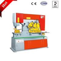 q35y-20 hydraulic ironworker/sheet metal punching shear and bending machine