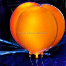12inch rubber Balloon latex material LED lighting balloon shining for advertising application