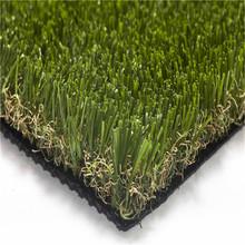 Monofilament Curly Yarn Green Turf For Villa Home Garden Landscaping Artificial Grass