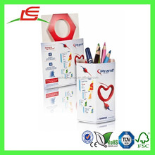 Q1373 China Wholesale Customized Printed Cardboard Pen Packaging Box, Pen Storage Box With Calendar