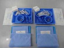 OEM of disposable green Eye Pack for surgical use made in China
