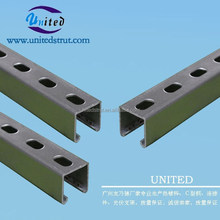 UNITED hot dipped galvanized C Channel strut/Cable bridge hot-dipped gal. strut tray/solar panel roof bracket