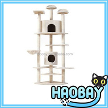 Cat scratching tree with original design and perfect quality modern house
