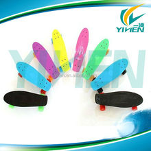 22 inch colorful mini fish skateboard complete