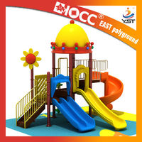 outdoor kids funbrain playhouse with swing 2013