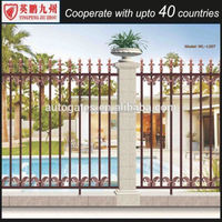 Used Simple Fence Designs For Modern Solid Aluminum Fence