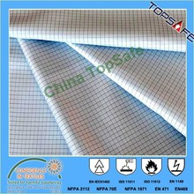 EN1149 antistatic cotton/nylon fabirc 220gsm for ESD workwear and coverall