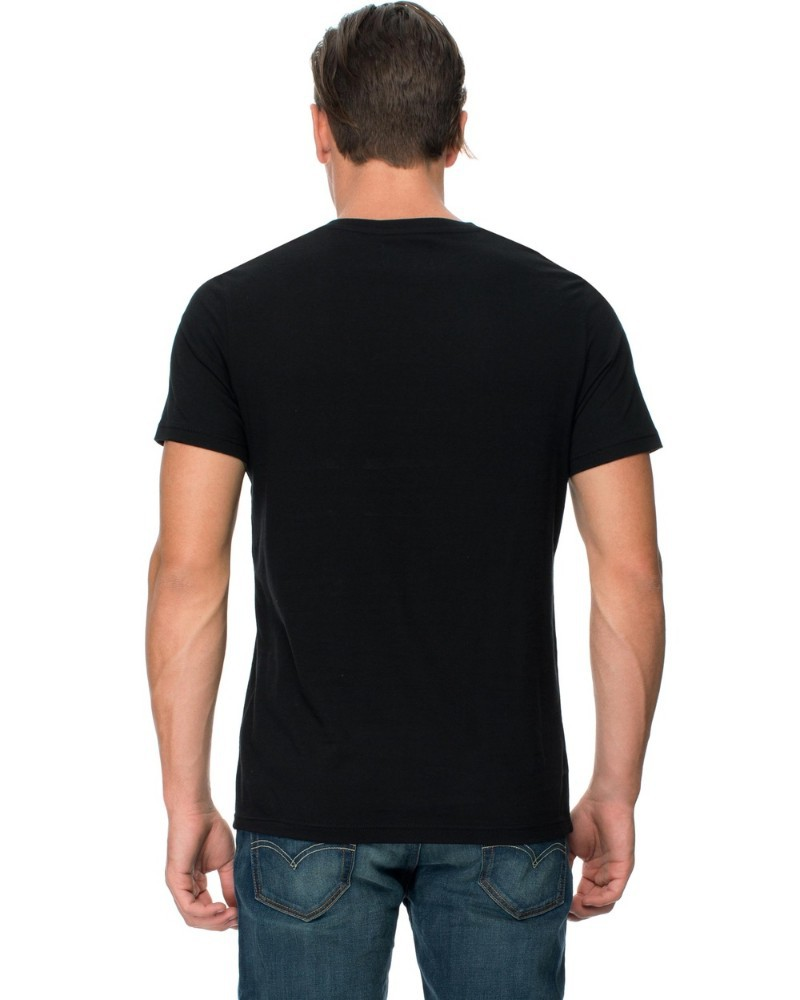 Blank black shirt artee shirt V neck black t shirt