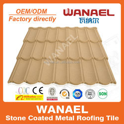 Classical Wanael stone coated metal roof sheet/wonder roof roofing/roofing for parking
