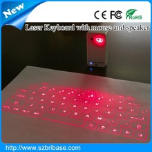 Ultra-thin Laser keyboard Virtual laser QWERTY layout Projection keyboard cheap bluetooth wireless infrared laser keyboard
