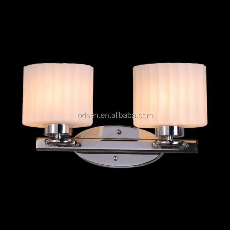 Bathroom Wall Sconce With Electrical Outlet Home Design: Double Wall Sconce Power Outlet Led Vanity Wall Lighting