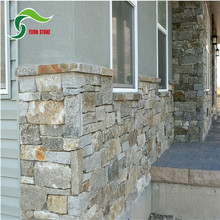 Hot selling natural inter-locked slate stone window frame