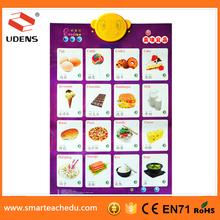 shenzhen hottest preschool children learning chart children voice playing IQ games
