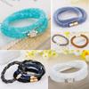 Hot Crystal Stardust Bracelet Double Wrap Bracelets with Magnet Clasp Charming Ladies Jewelry fashion bracelet BCR035