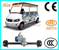 Pure Electric Golf Cart Rear Axle Sightseeing Bus Rear Axle,Hot sale 48V 1000W Rear Axle/Power assembly for Electric Motor Car