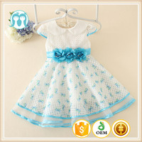 2015 latest fashion lovely cute pattern baby girls dresses holiday wearings/dresses for girls casual stunning girls dresses