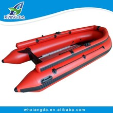 2015 China Factory PVC Hull Speed Boat Inflatable Row Boat for Sale