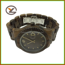 OEM wood watch,bamboo/maple/sandalwood wood watch with high quality and fast delivery time