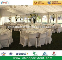 Outdoor White Marquee Wedding Tent with 500 Seaters Decorate Lining for Sale