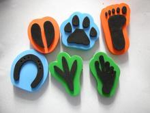 192PCS/LOT.EVA foam sheets,Foam shape sheets,Craft material,kindergarten ornament.DIY accessories,4 design,15cm,