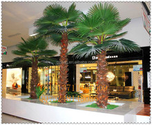 business center decoration artificial palm tree / artificial palm leaves / fake palm tree outdooor drcoration palm tree