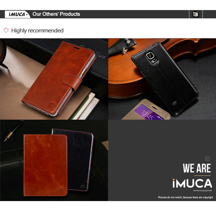 IMUCA brand 360 rotating leather case cover for apple ipad air
