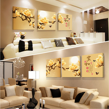 Chinese modern style decoration wall mural artist design