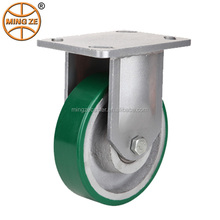 5 inch Heavy Duty polyurethane on cast iron Caster Wheel in Competetive Price