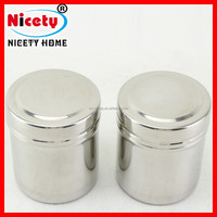 Nicety stainless steel tea storage box with lid