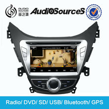 car pc for hyundai elantra 2013 touch screen dvd gps with bluetooth radio SD USB steering wheel control dual zone