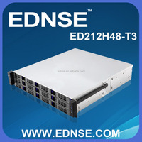 ED212H48 12 Bay Hot Swap Storage 2U Server Case for Cloud Server