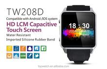 Smart watch factory cheap GSM HD capacative touch screen digital phone watch, smart bluetooth watch, smart watch phone