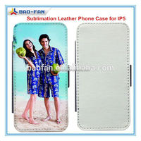 Year-end promotion!Offer printing service!2d blank sublimation leather cell phone custom flip case for iphone 5