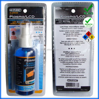 120ml plastic spray Washable & reusable screen cleaner