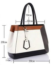 Italy style Popular High-end quality fashion PU bag leather guitar bag