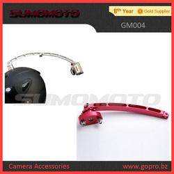 Helmet handle bar GM005-ALU+GM004-H Helmet Gopros Rotating mount