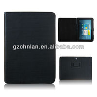 2013 New design leather case for Samsung Galaxy tab P5100 case