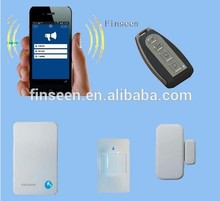 Not GSM!Finseen cloud IP home security alarm no monthly/set up/hidden fees and no contract!More safety & stable than GSM!