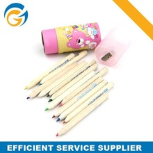 Wood Colour Pencil Set with Cheap Price New Type Wooden Color Pencil