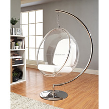 Swing hanging bubble chairs for bedrooms
